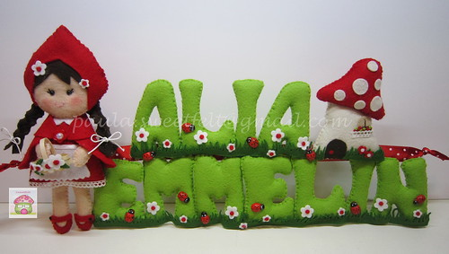 ♥♥♥ Alia Emmelin... A caminho da Noruega! by sweetfelt \ ideias em feltro
