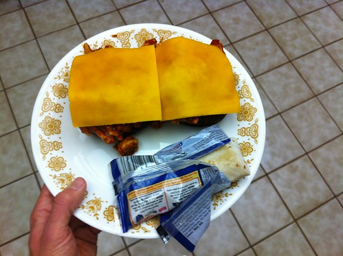 Thursday - Sloppy joes and burritos in a bag