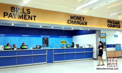 Bills Payment, Mpney Changer, & Package Counter