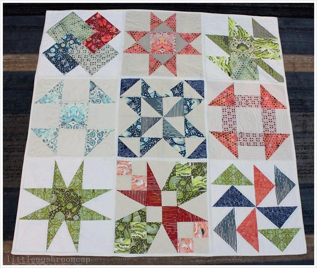 About A Quilt Sampler_Tutorial On littlemushroomcap