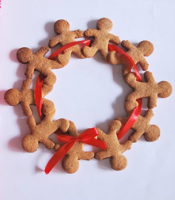 corona di gingerbread