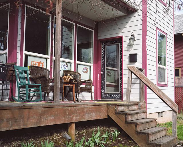 A portland porch