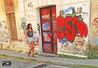 Macedonia, Kavala, heart breaker girl, Greece