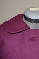 collar, ninot jacket, under collar, upper collar, facing, tutorial