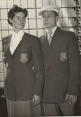 Tenue Nederlandse equipe Oslo 1952 / Outfit Dutch team Oslo 1952
