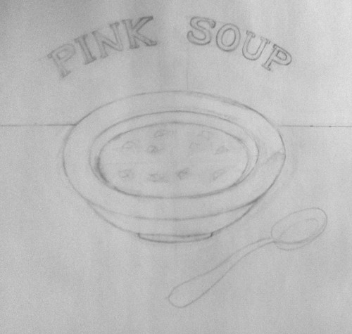 Pink Soup (Illustration as of Feb. 9, 2014) by randubnick