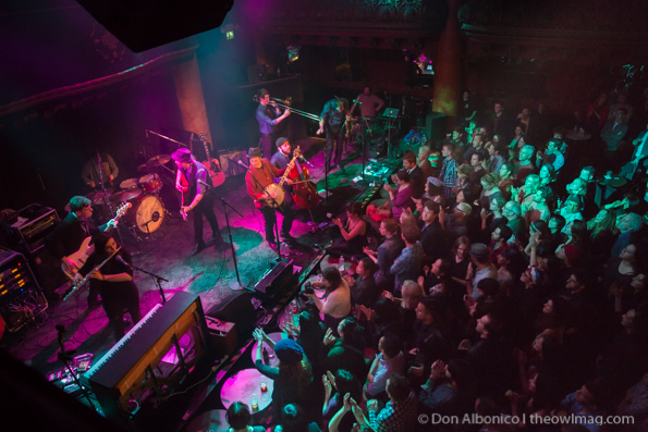 The Family Crest @ Great American Music Hall, SF 2/13/14