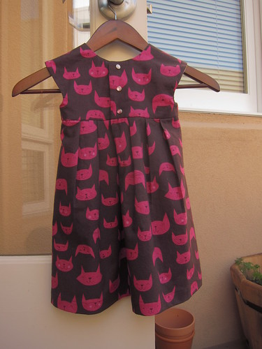 Catnap Geranium Dress