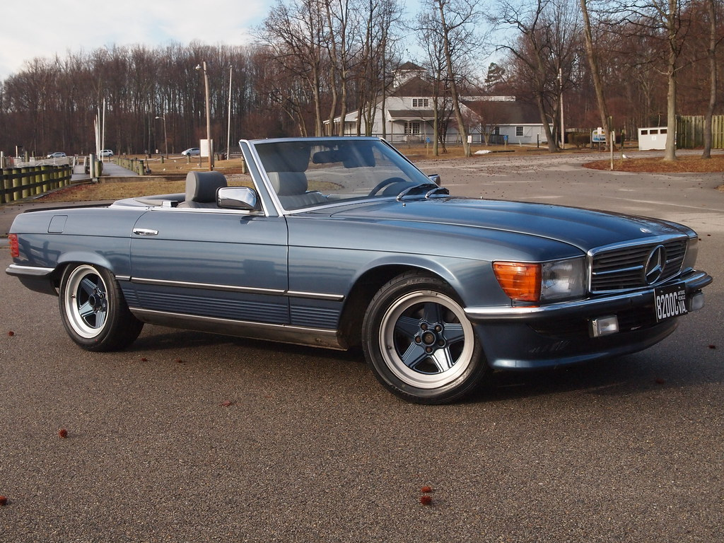 Sell used 1983 mercedes benz 500sl in falls church for Mercedes benz in virginia
