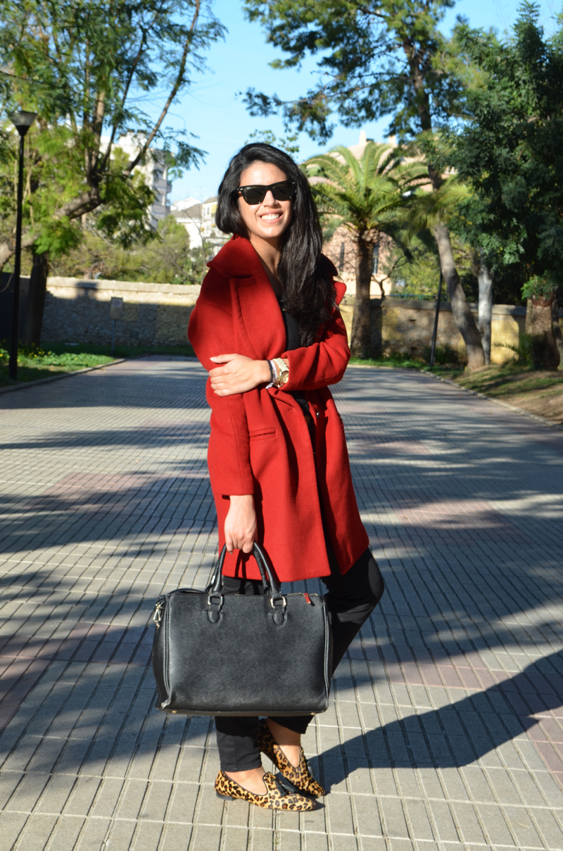 florencia blog red coat zara
