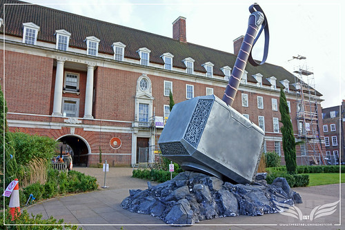 The Establishing Shot: THOR: THE DARK WORLD - THOR'S HAMMER MJÖLNIR DAVENPORT HOUSE GREENWICH, LONDON by Craig Grobler