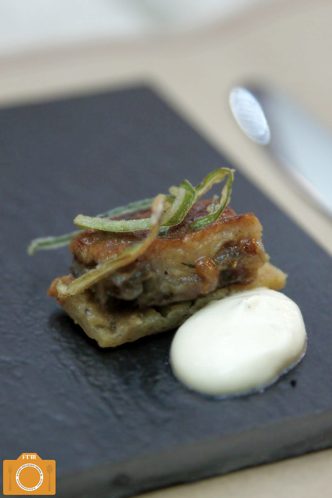 OTKB Eel and Apple Galette