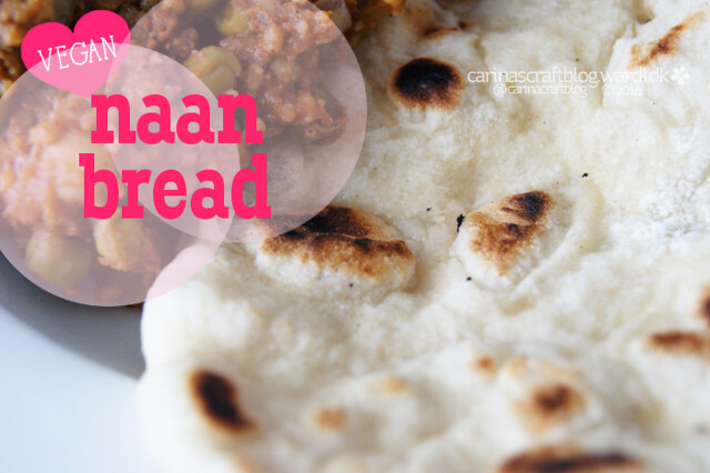 Vegan Naan Bread Recipe