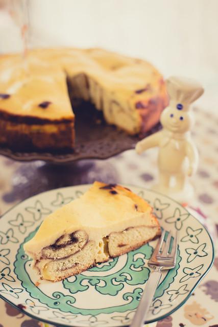 Cinnamonroll Cheesecake for Baby Shower
