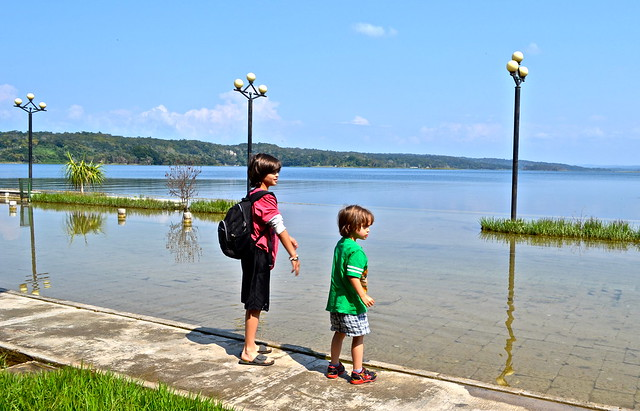 Flores Guatemala - Lake Peten Itza