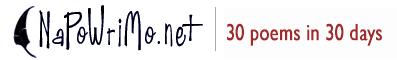 NaPoWriMo logo