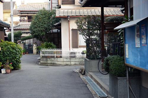 野江住宅街
