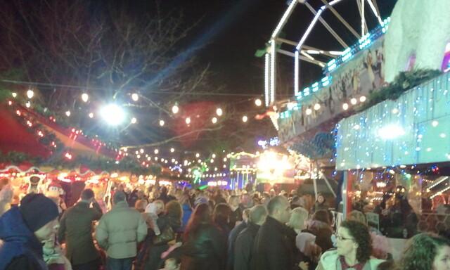 Cardiff's Flybe Winter Wonderland - Nadolig Llawen a Blwyddyn Newydd Dda i bawb o Gaerdydd, Cymru!