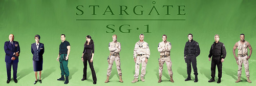 Stargate SG-1 pattern