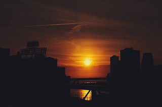 Sunset from the BK Bridge