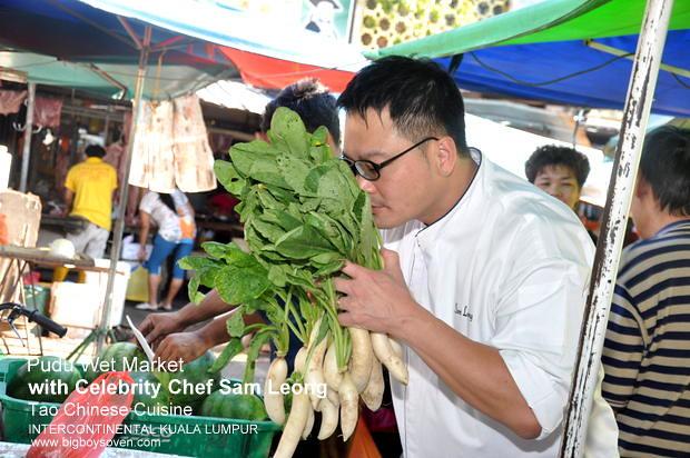 Chef Sam Leong Intercontinental Kuala Lumpur