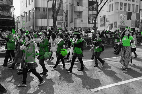 Harajuku St Patricks Day Parade 2014 22