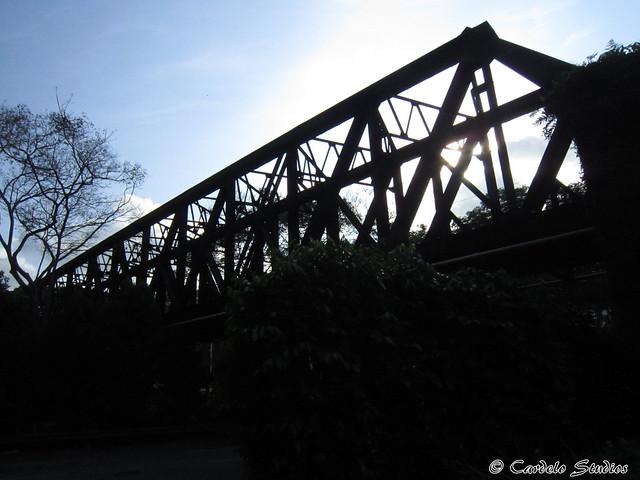 KTM Railway Track - Bukit Timah Road Bridge 01