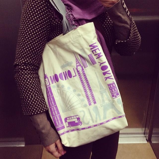 Got this bag from a dear...