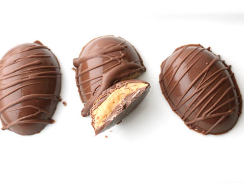 Three Peanut Butter Eggs