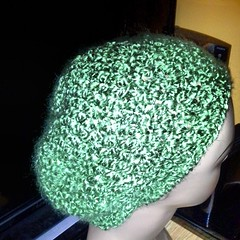 #justfinished green apple beret for @traciroxanne #crochet #icrochet #style #fashion #art #hat #dc #nyc #support