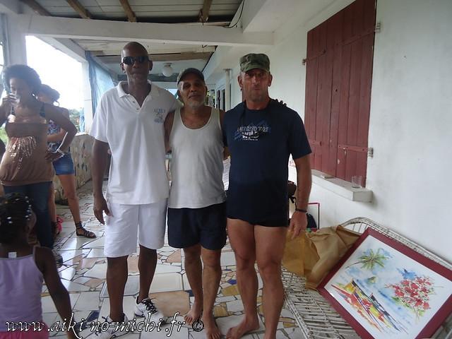 Pot de départ de JOACHIM de la Martinique