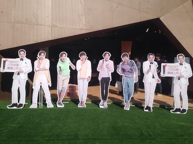 [pics] Yalget Exhibition Stands with Jang Keun Suk Images at Shanghai Cosmetic Expo_20140507 13940563020_1e49efdd31_z