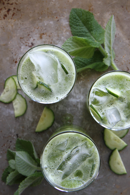 Cucumber Mint Gin Coolers