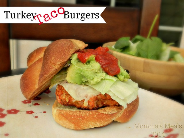 Taco Turkey Burger (1)