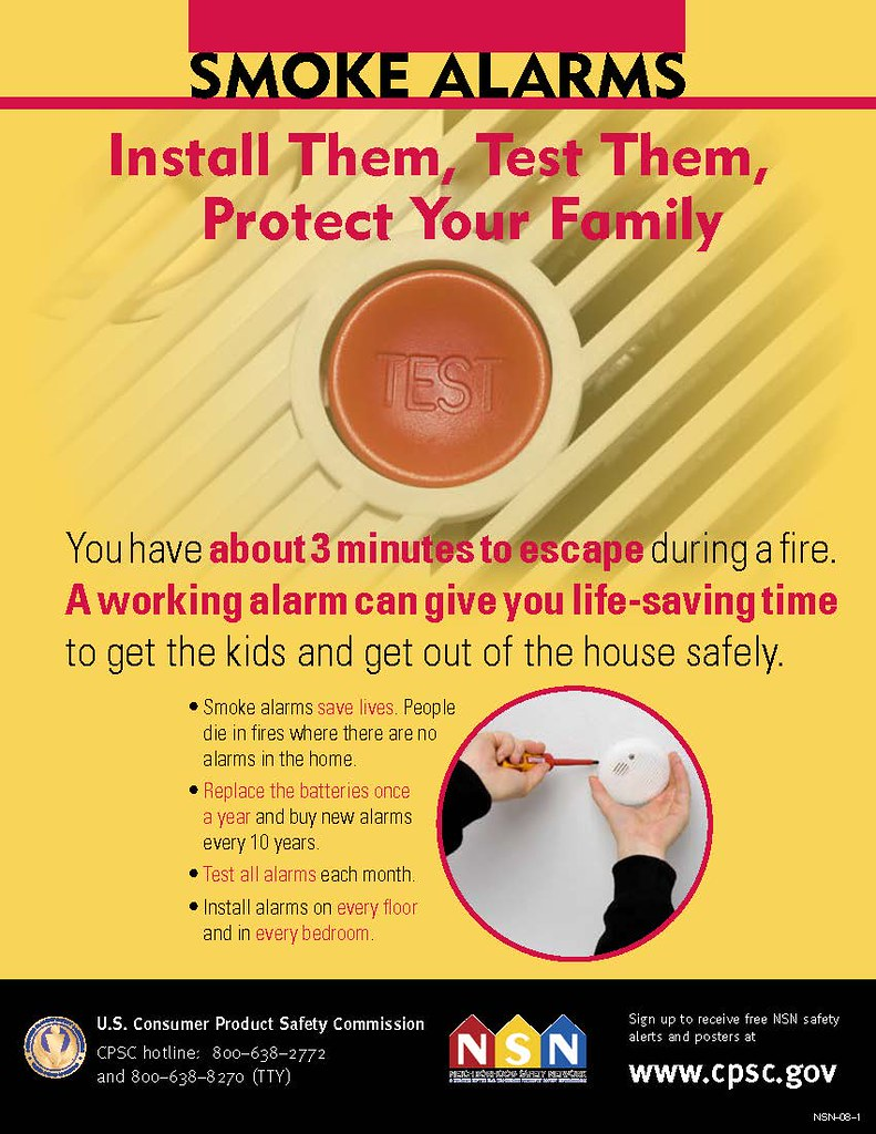 Install them, test them, protect your family
