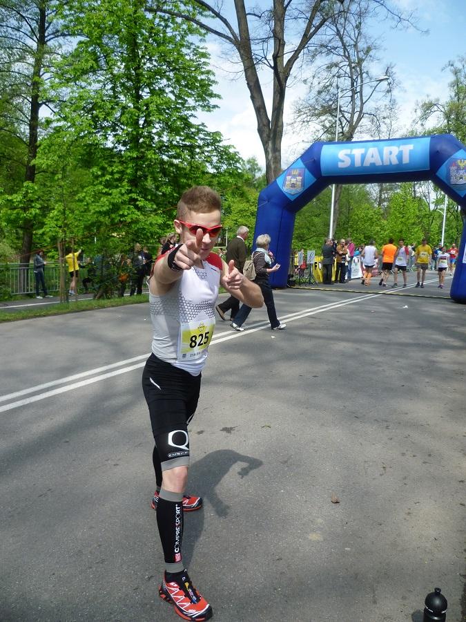 Český Těšín FORTUNA BĚH 10 KM, 27.4.2014