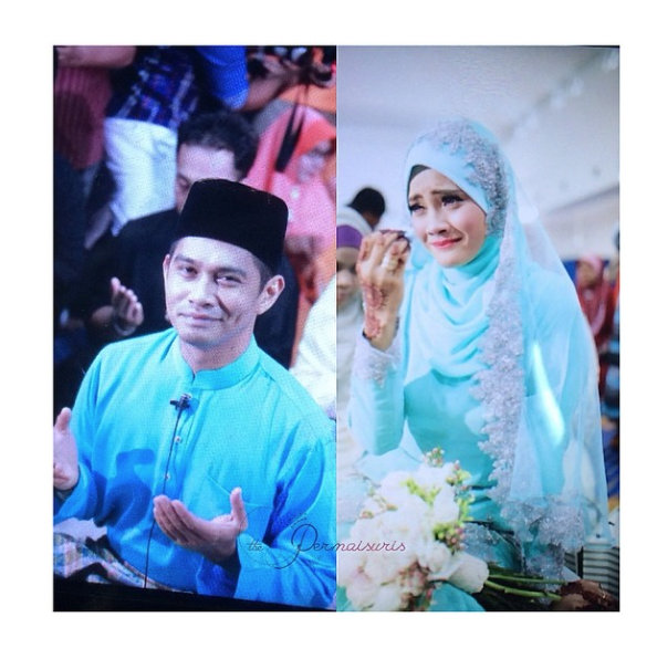 Gambar Majlis Nikah Almy Nadia & Fizz Fairuz