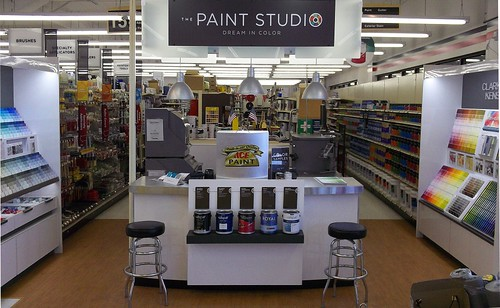 The new Paint Studio initiative which contributed to record retail sales in May