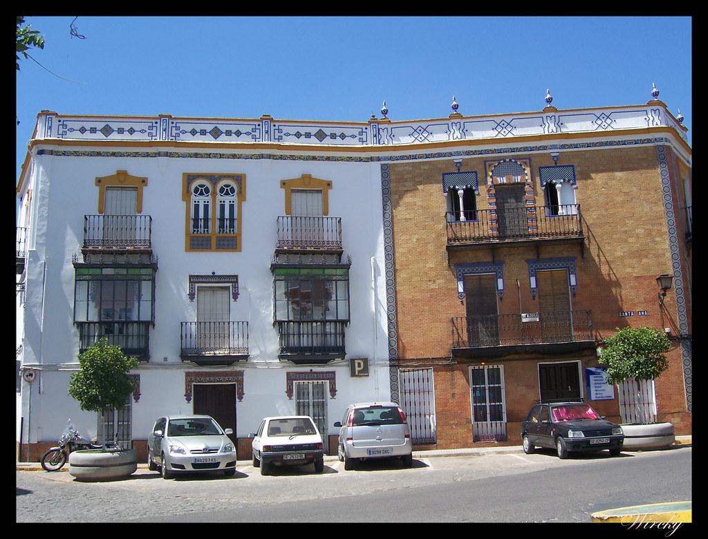 Mansiones señoriales en Constantina