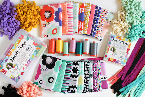 Favorite Things Aurifil Thread Collection - Geometric Bliss