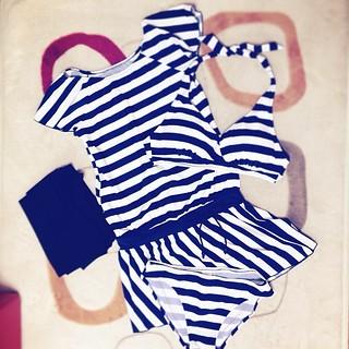 水着も世代交代した。新しい水着こんにちは。 #fashion #swimsuit