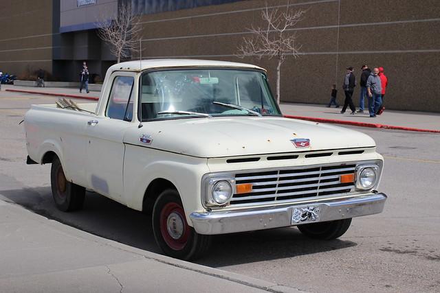 1963 Ford F-100 pickup truck