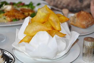 Patatas de Souffle de guarnición