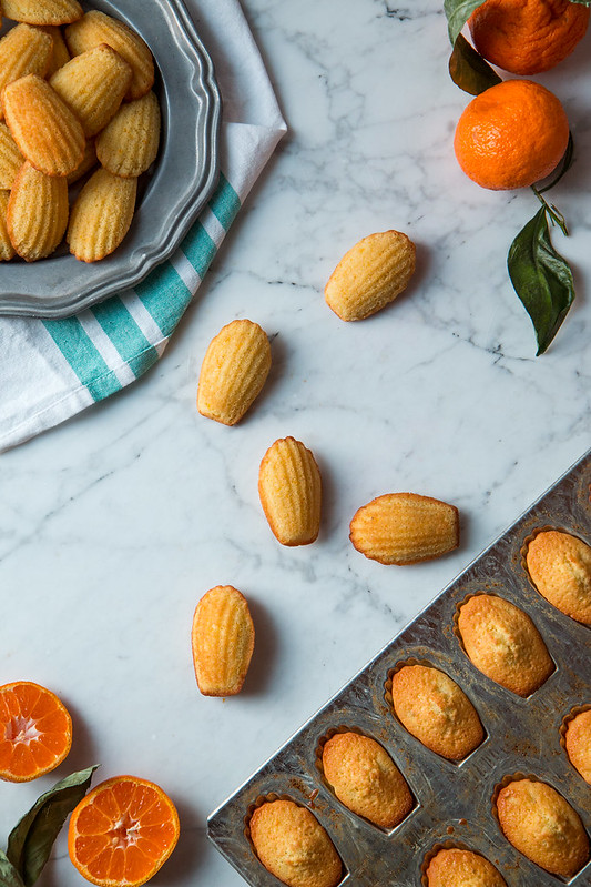 Satsuma Orange Madeleines