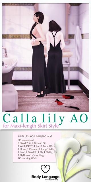 Calla lily AO