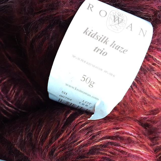 Something old: Rowan Kidsilk Haze Trio