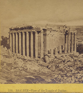 Baalbek - View of the Temple of Jupiter