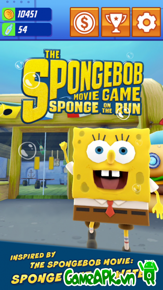SpongeBob: Sponge on the Run v1.4 hack tiền cho Android