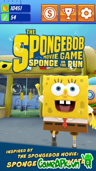 SpongeBob: Sponge on the Run v1.4 hack tiền cho Android