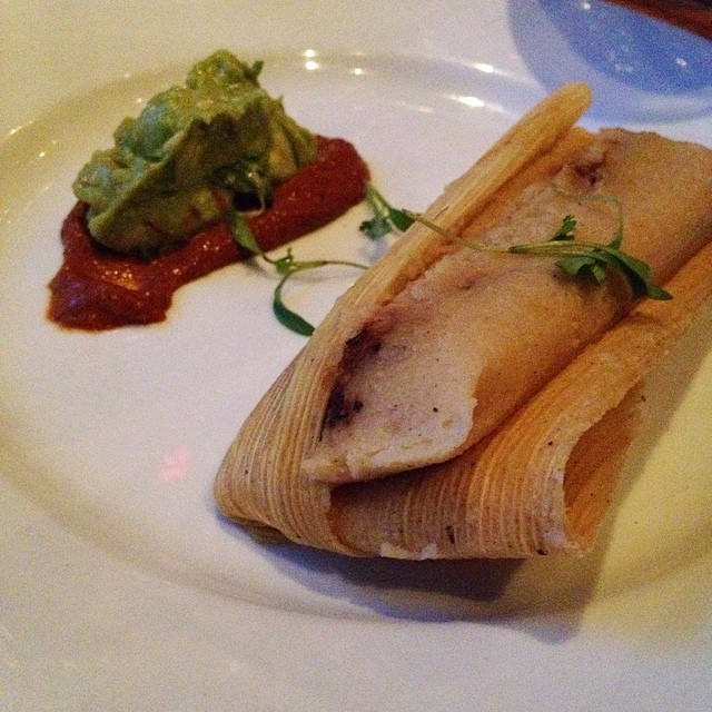 Second Course: Tamales #isalive #vegan #citywinerynyc